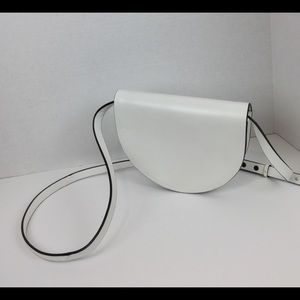 Kate Spade Saturday Half Round Bag in White